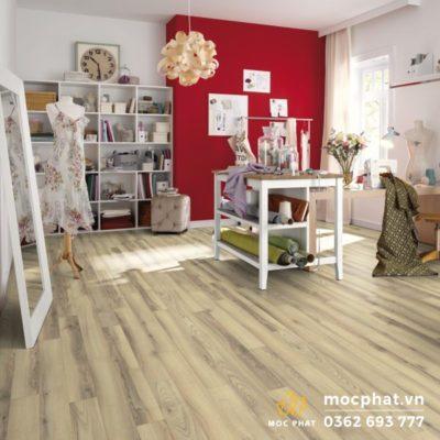 Cận cảnh vẻ đẹp của không gian lắp đặt sàn gỗ Egger
