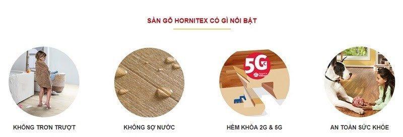 Tổng hợp những ưu điểm vượt trội của sàn gỗ Hornitex