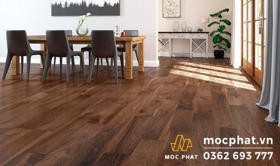Sàn gỗ Janmi được ứng dụng trong nhà tạo nên vẻ đẹp hoàn hảo