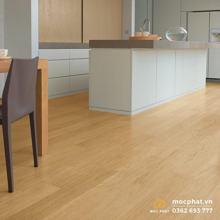 Sàn gỗ Quickstep màu sáng