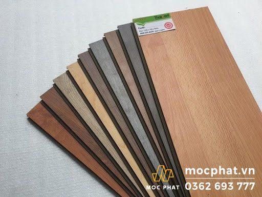 Bảng màu đa dạng gỗ MDF
