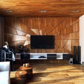 Ốp trần gỗ công nghiệp