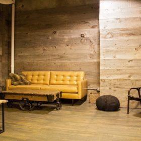 ốp tường gỗ