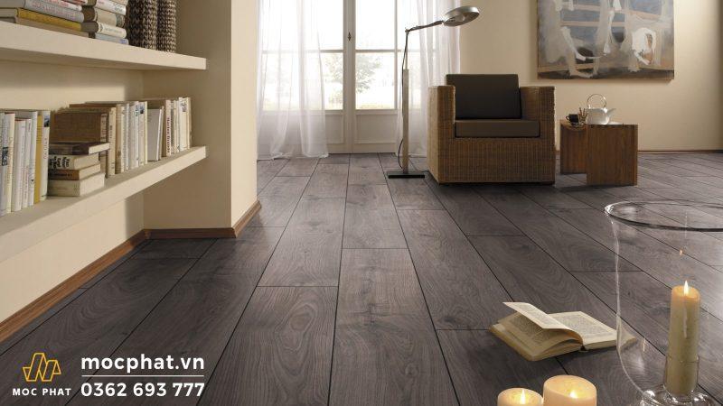 Sàn gỗ Kronotex được lắp đặt nhanh chóng và tiện lợi