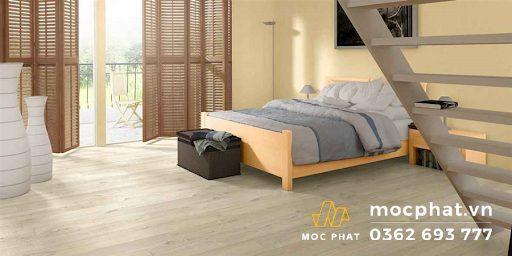 Sàn gỗ Quickstep được ứng dụng trong không gian sống