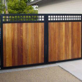 cổng hàng rào gỗ nhựacổng hàng rào gỗ nhựa