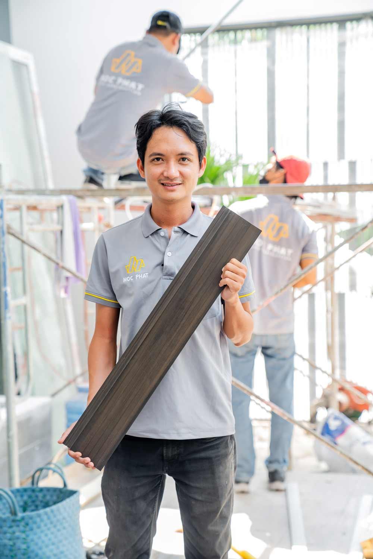 Hình ảnh giới thiệu gỗ ốp trần