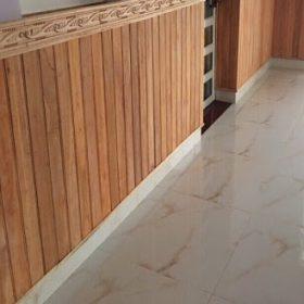 Ốp tường gỗ chân tường