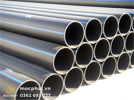 Ống nhựa sản xuất từ nguyên liệu hạt nhựa PVC
