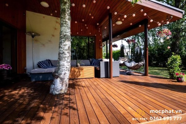 Sàn gỗ Thermo Ash có tuổi thọ cao đến 30 năm