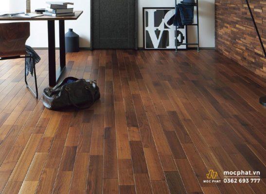 Vẻ đẹp lay động lòng người của sàn gỗ tần bì