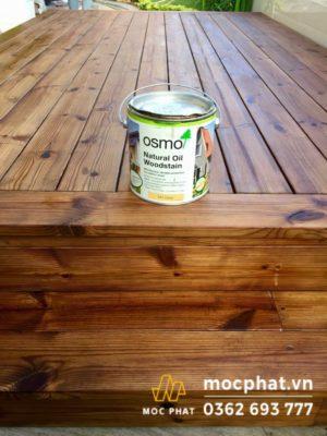 Sơn dầu Osmo được đánh giá là sơn dầu lau gỗ tốt nhất hiện nay