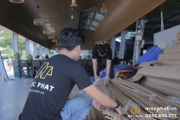 Thi công trần gỗ - Chuẩn bị loại gỗ phù hợp