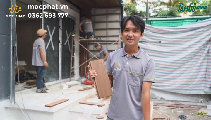 Hình 1 – Sàn gỗ Teak Myanmar