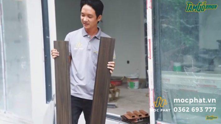 Hình 2 - Lựa chọn tấm gỗ nhựa composite