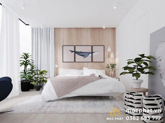 Phòng ngủ cho gia chủ mệnh Kim
