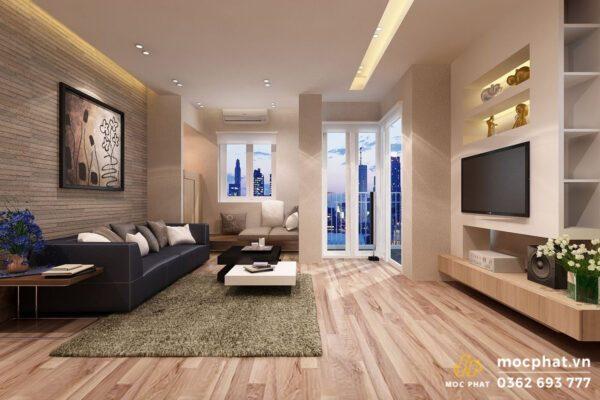 Phòng khách và hướng phòng khách thích hợp cho gia chủ mệnh Thổ