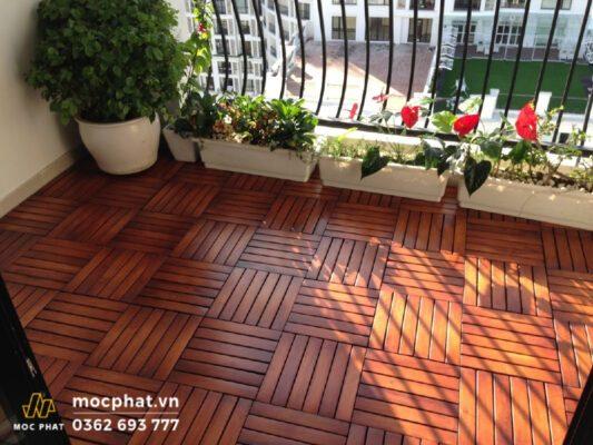 Sàn gỗ nhựa Composite cho ban công