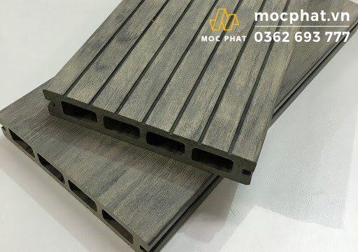Sàn gỗ nhựa Composite rỗng lỗ chữ nhật