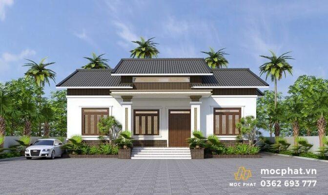 Nhà vườn mái Thái