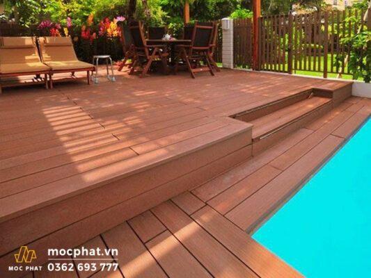 Sàn nhựa vân gỗ composite là gì?