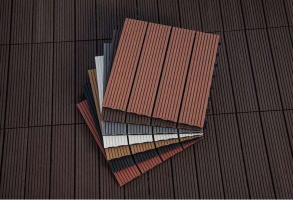 Sàn nhựa vân gỗ composite dạng vỉ