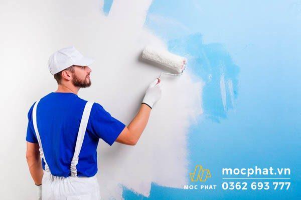 Công đoạn sơn tường ở từng vị trí của công trình sẽ có giá khác nhau