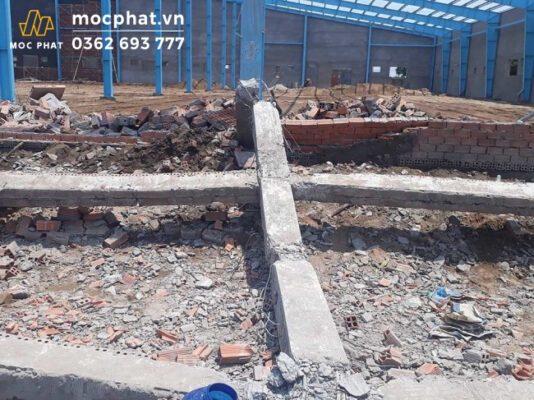 Sập vách tường có thể do thi công sai kỹ thuật hoặc vật liệu không đạt tiêu chuẩn