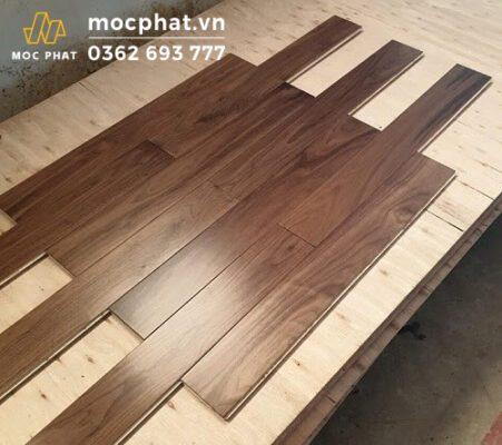 Sàn gỗ óc chó nguyên thanh nhập khẩu Bắc Mỹ