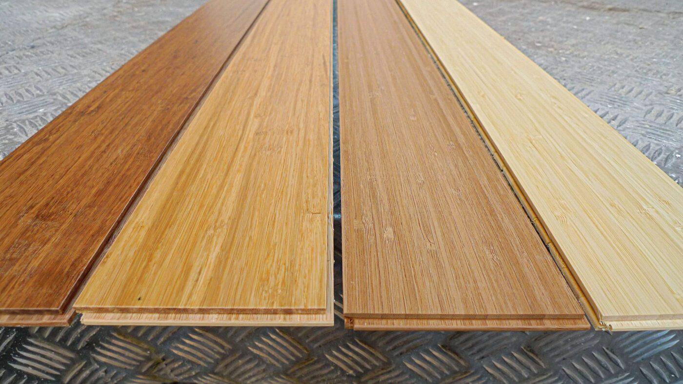 Sàn tre lúc hoàn thành sẽ có dạng ván sàn tre dệt vào nhau