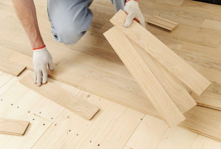 Lắp đặt sàn gỗ trên nền gỗ