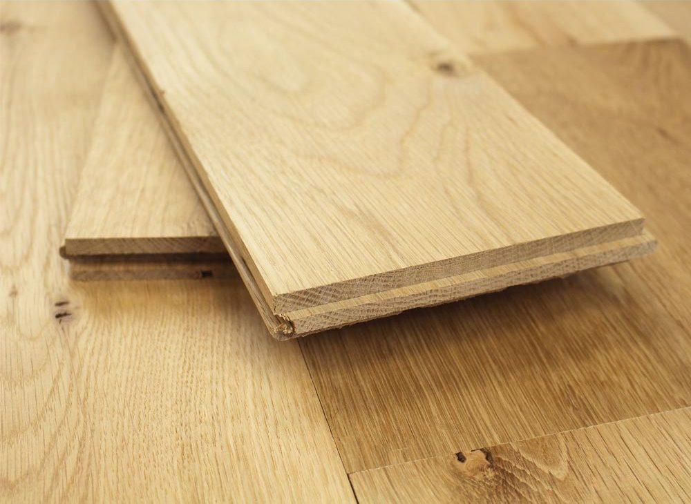 Sàn gỗ tự nhiên liền nguyên thanh