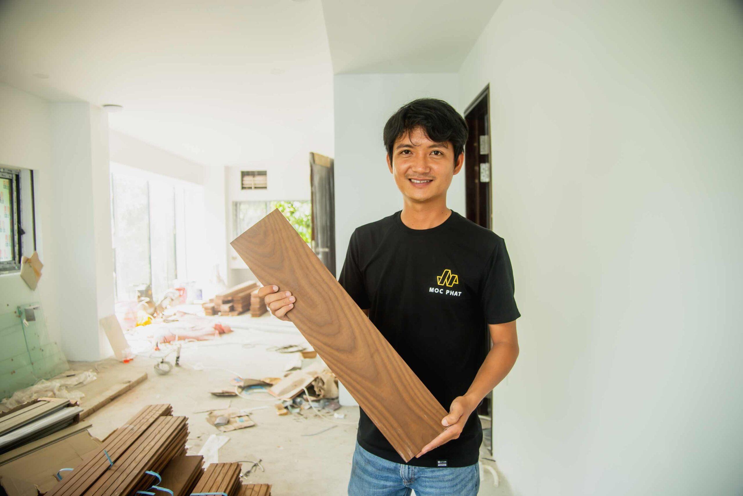 Hình ảnh kỹ thuật Mộc Phát giới thiệu sàn gỗ