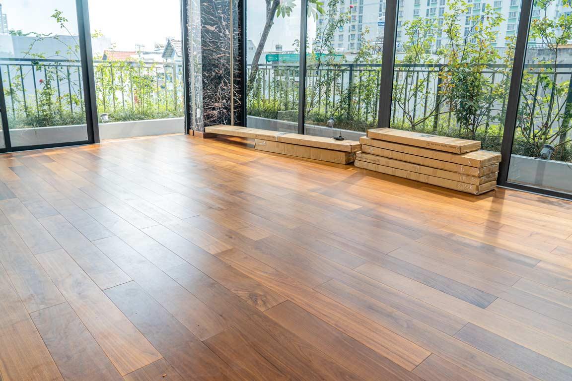 sàn gỗ biến tính