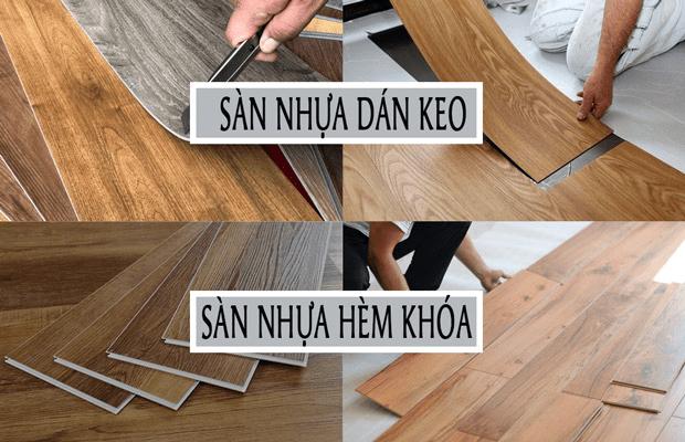Sàn nhựa giả gỗ hiện nay có rất nhiều mẫu mã đa dạng
