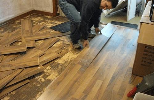 Tháo sàn