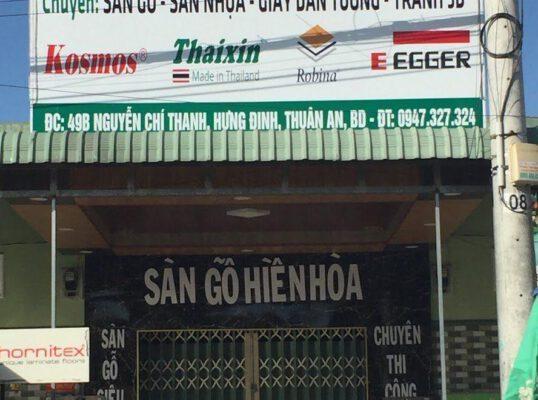 Cửa hàng sàn gỗ Hiền Hòa