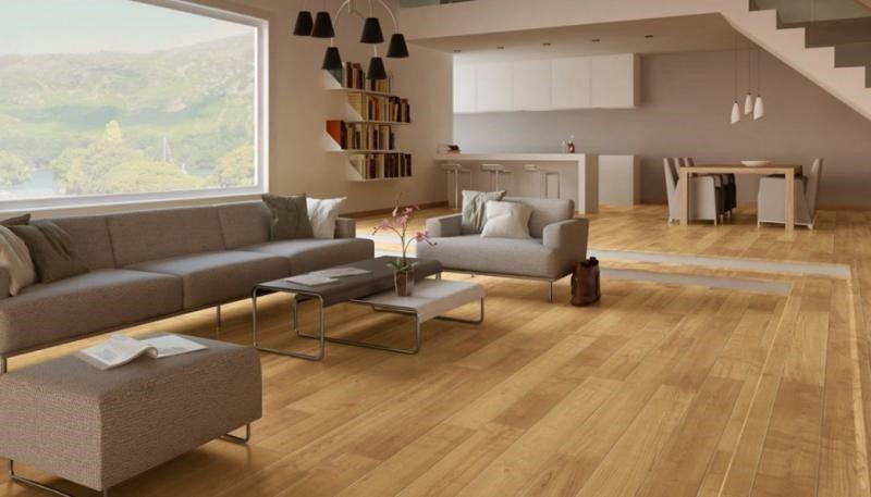 Showroom sàn gỗ Quốc Cường