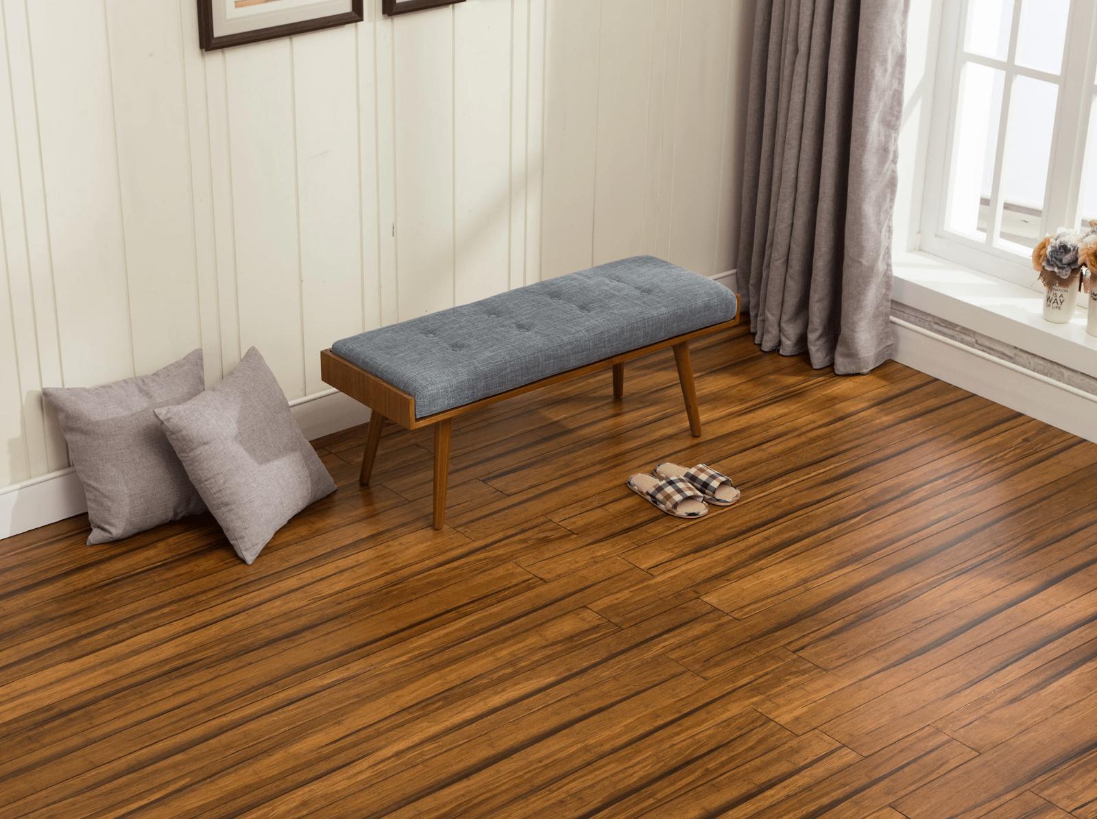 Sàn tre đem lại tính thẩm mỹ cũng như nhiều lợi ích khác cho ngôi nhà
