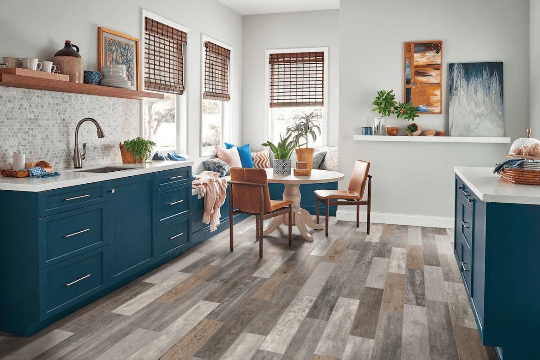 Lựa chọn sàn phù hợp cho phòng bếp