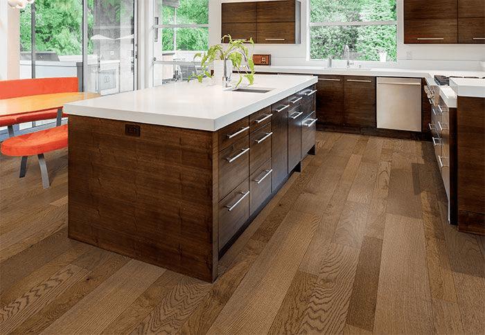 Sàn gỗ kỹ thuật dễ dàng vệ sinh và bảo dưỡng