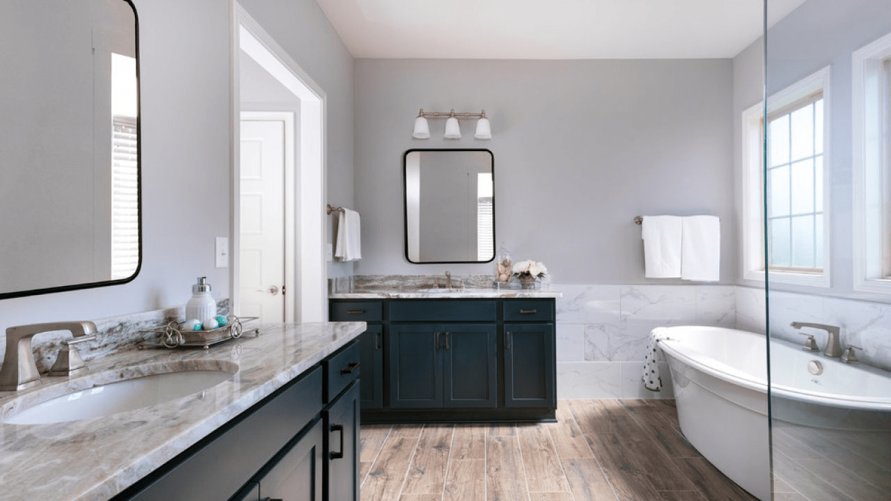 Sàn gỗ kỹ thuật có thể được sử dụng cho nhà tắm