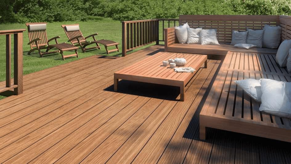 Không bao giờ sử dụng chất tẩy rửa mạnh trên sàn gỗ tự nhiên