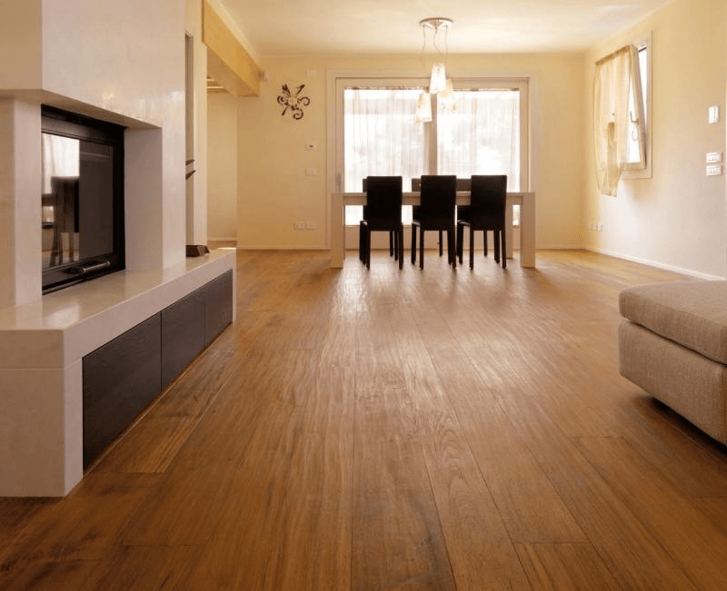 Sàn gỗ Teak không bị cong vênh dù khí hậu thay đổi