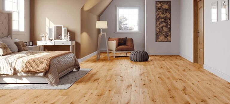 Sàn gỗ kỹ thuật có độ bền cao, dễ lắp đặt và dễ dàng vệ sinh